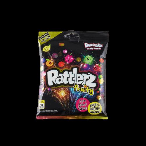 Bazooka Rattlerz fruity chewy candy 120g