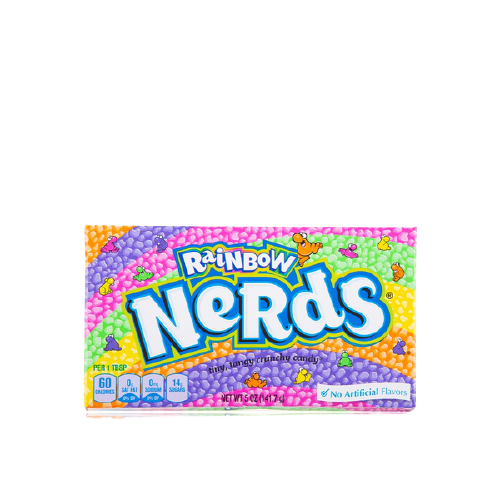 Wonka candy Rainbow Nerds 141.7g