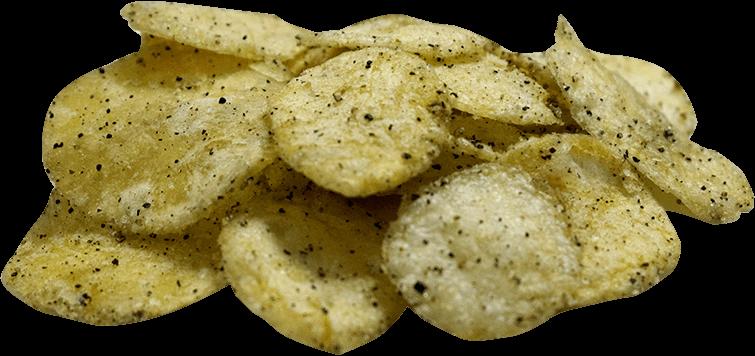 Black Pepper Crisps