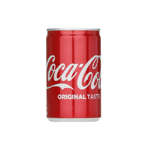 Coke in can 150ml