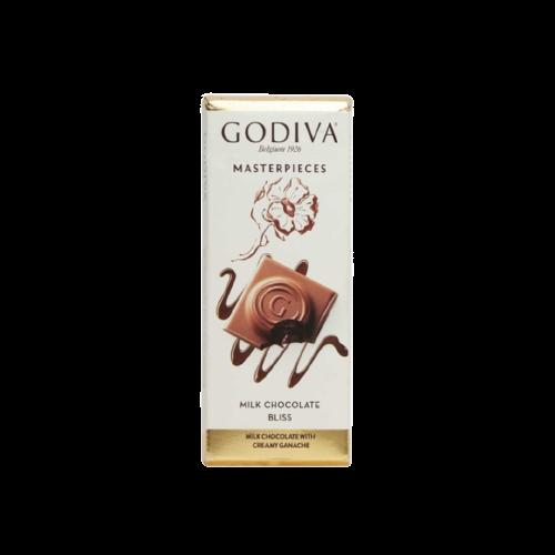 Godiva Milk Chocoloate Bliss Tablet 88g