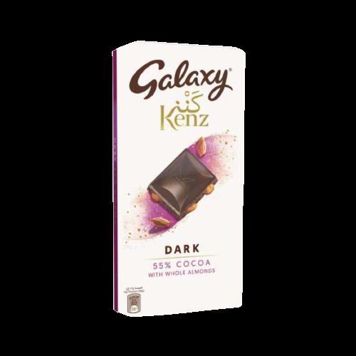 Galaxy Kenz Dark Whole Almond 90g
