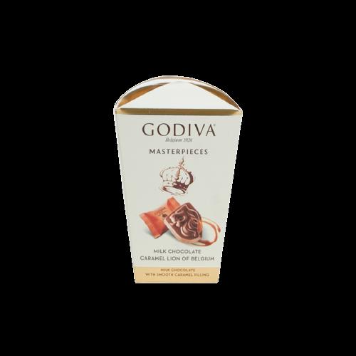 Godiva Box Milk Choc Caramel 119g