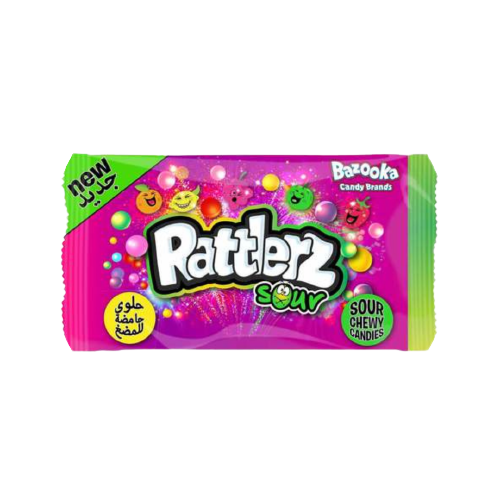 Bazooka Rattlerz Sour Bag 40g