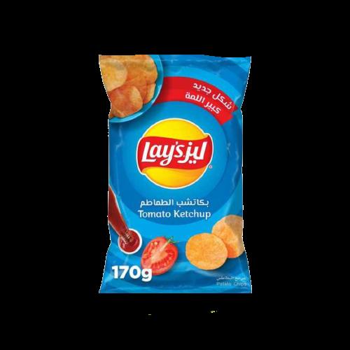 Lay's Tomato Ketchup Potato Chips 170g