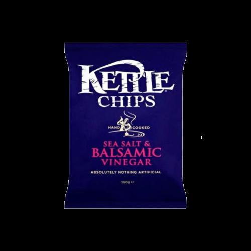 Kettle Chips Sea Salt And Balsamic Vinegar Potato 150g