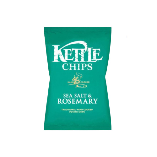 Kettle Chips Sea Salt and Rosemary 150g