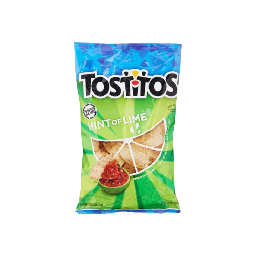 Tostitos Hint Of Lime Tortilla Chips 283.5g