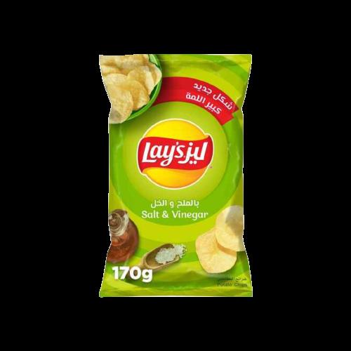 Lay's Salt & Vinegar Potato Chips 170g