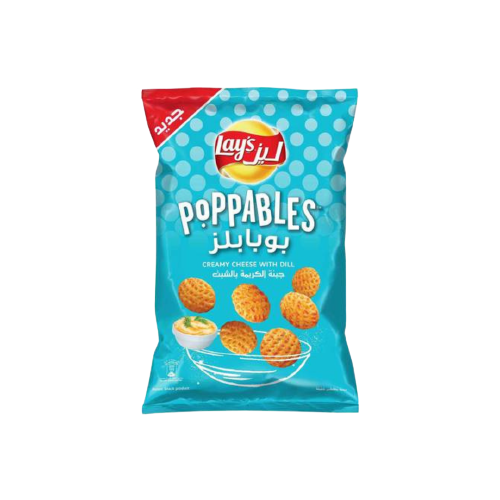 Lays Poppables Cream Cheese 150g