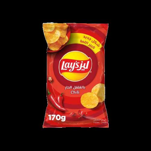 Lay's Chili Potato Chips 170g