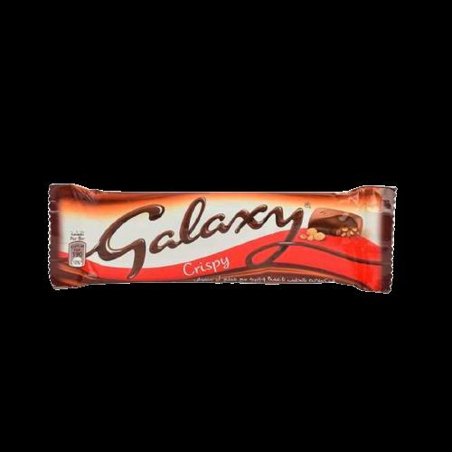 GALAXY CRISPY CHOCOLATE BAR 36G