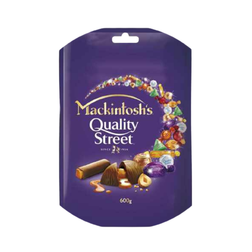 Nestle Mackintosh's Quality Street Chocolate 600g