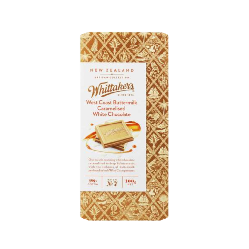Whittaker's West Coast Buttermilk With Caramelized White Chocolate 100g