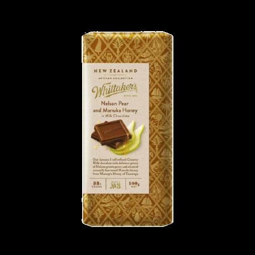Whittaker's Nelson Pear And Manuka Honey Chocolate 100g