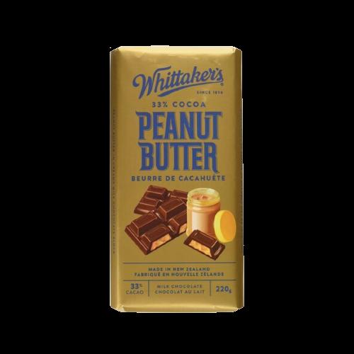 Whittaker's Peanut Butter Milk Chocolate Bar 220g