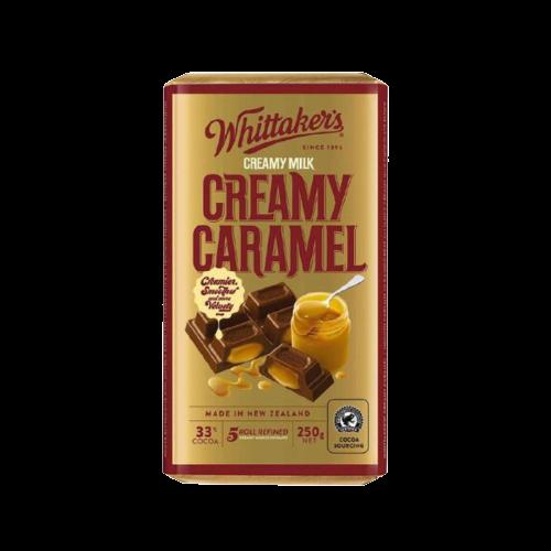 Whittakers Creamy Caramel 250g