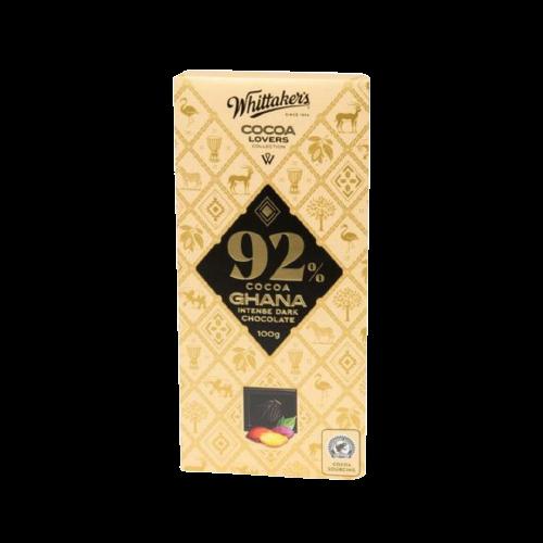 Whittaker's Cocoa Ghana Intense Dark Chocolate 100g
