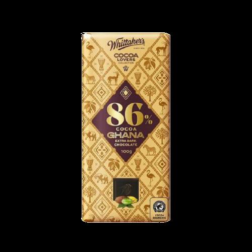Whittaker's Cocoa Ghana Extra Dark Chocolate 100g