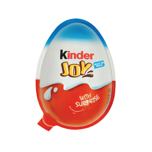 Kinder Joy Surprise Egg Milk Chocolate 20g