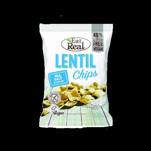 Eat Real Sea Salt Lentil Chips 113g