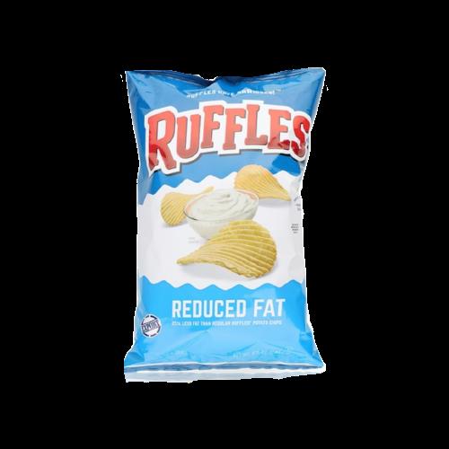 Ruffles Reduced Fat Potato Chips 182g