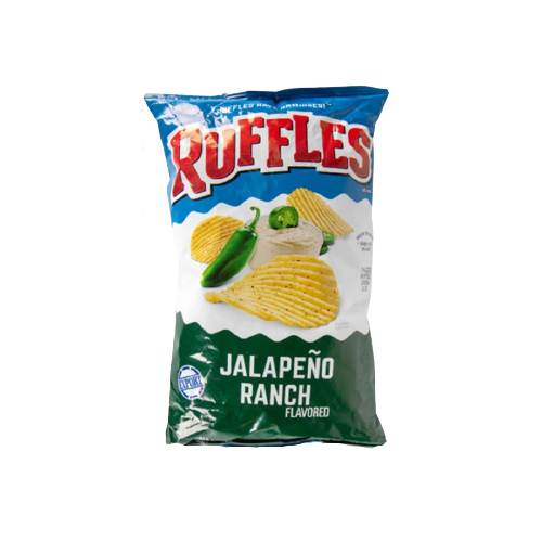 Ruffles Jalapeno Ranch 6.5 Oz