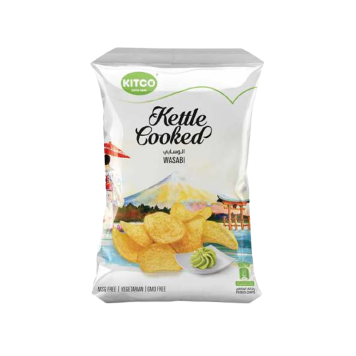 Kitco Kettle Cooked Wasabi 150g