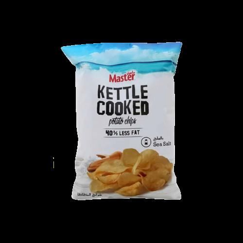 Master Kettle Cooked Sea Salt Potato Chips 170g