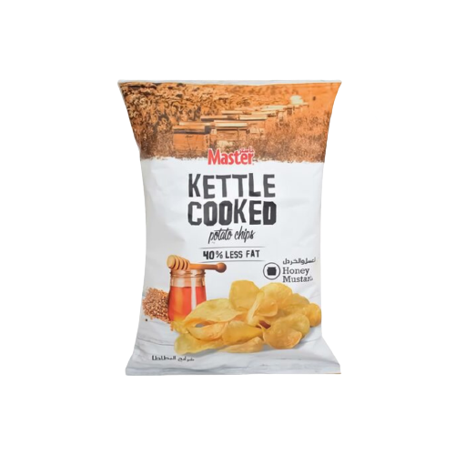 Master Kettle Cooked Honey And Mustard Potato Chips 170g