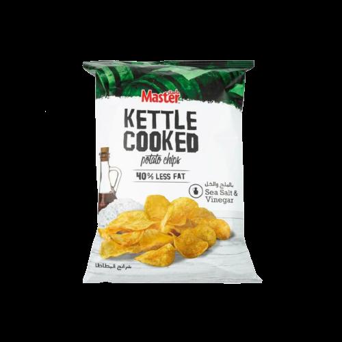 Master Kettle Cooked Salt And Vinegar Potato Chips 170g